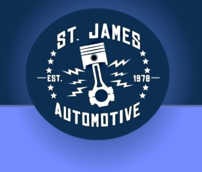 St. James Automotive - Established 1978 - Logo